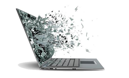 Разбитая матрица ноутбука   remontikgsm.by